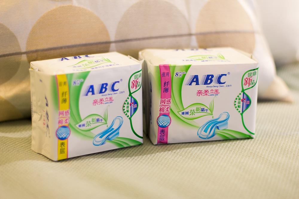 abc分享:使用卫生巾五大误区
